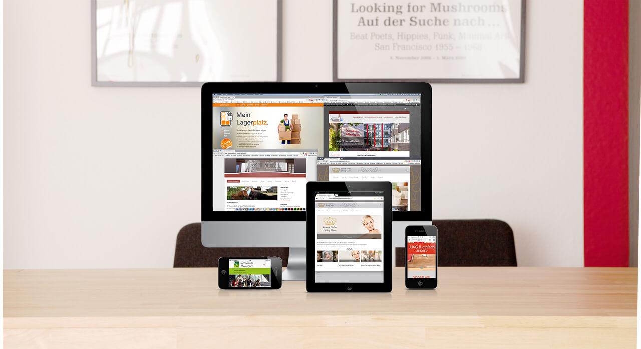 Internetseiten von JUNG & einfach anders
